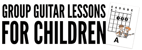 teaching children guitar in groups