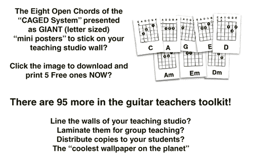 how to give guitar lessons. First eight guitar lesson plans