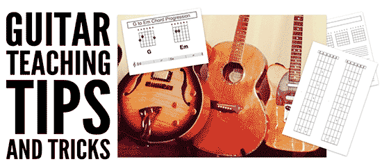 Tips and tricks for guitar teachers