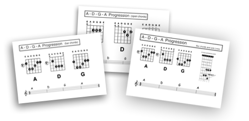 bar chord diagrams