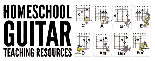 homeschool guitar lessons and resources