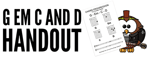 How To Teach Kids to play Guitar, D chord shape For Children