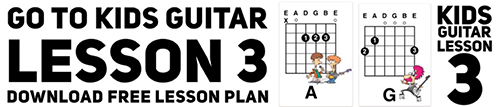 Kids guitar chord lesson 3