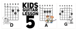 guitar chords and strumming patterns for kids