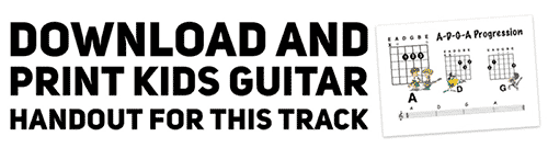 download a free guitar backing track for kids and adults