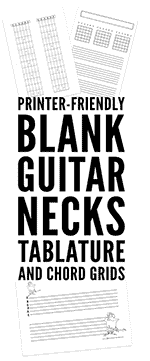printed materials that will allow you to prepare your own guitar lessons