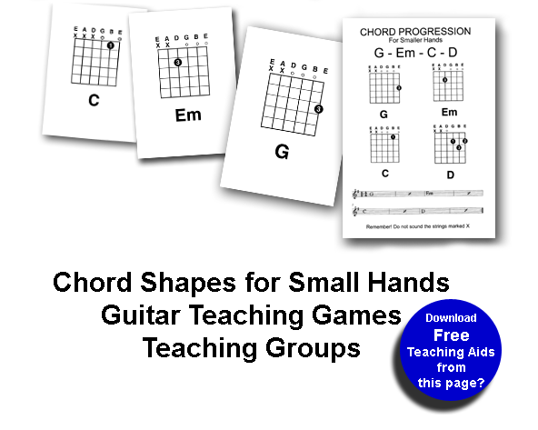 Teach Children Guitar, Chords For Kids