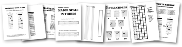 Kids Guitar Lessons other sheets