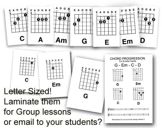 free guitar teaching resources
